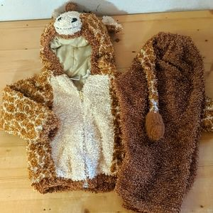 2 Piece Fuzzy Giraffe Costume 24 Months